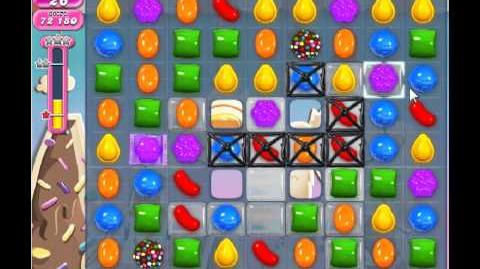 Candy Crush Saga Level 50 - 1 Star - no boosters