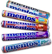 Amazon.com : Mentos Mint Candy, 1.32-Ounce Rolls (Pack of 30 ...