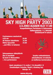 Helsinki 2003 MMM Finland
