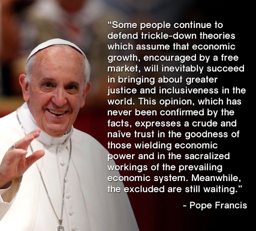 File:Pope Francis on trickle-down economics.jpg