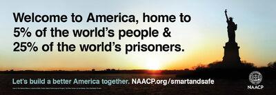 USA. 25% of world's prisoners 3