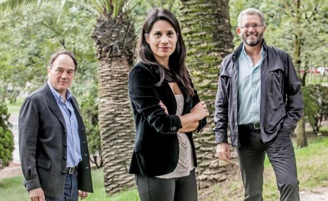 File:Lisa Sánchez, Pablo Girault and Armando Santacruz. Mexican Society for Responsible and Tolerant Personal Use.jpg