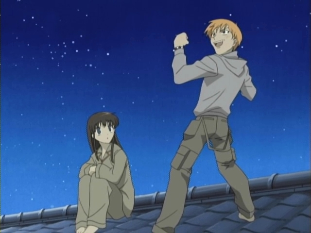 Fruits Basket Kyo And Yuki Fighting Kyo telling Tohru about his