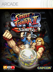 Super Street Fighter II Turbo Pinball FX XBOX Live Arcade image