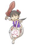 Kuni and Chibiterasu