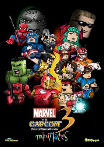 File:Marvel vs Capcom Mini Mates poster.png