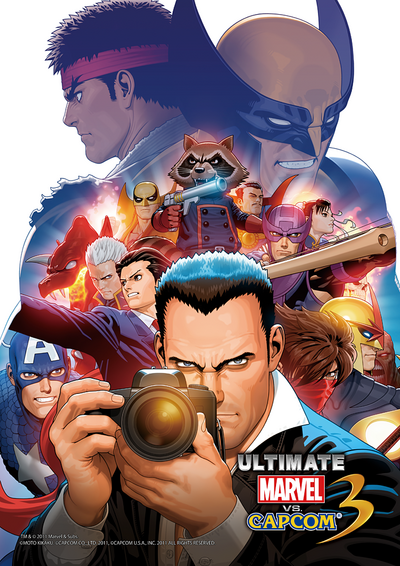 Ultimate MvC3 Art