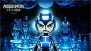 Mega Man Universe title