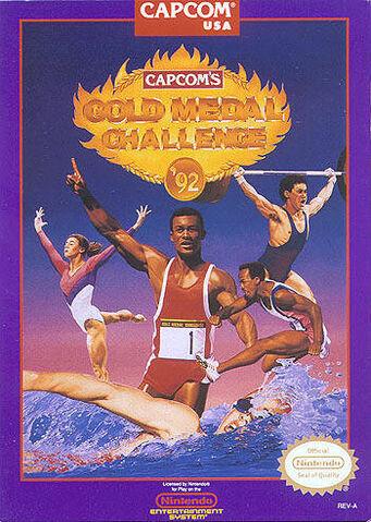 File:Capcom's Gold Medal Challenge '92.jpg