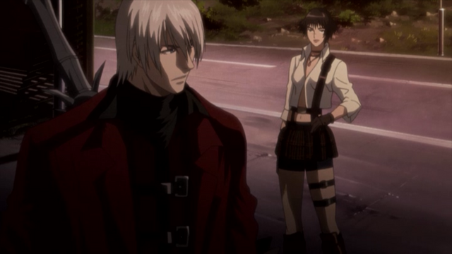 File:Dante & Lady - Devil May Cry anime Episode 2.png