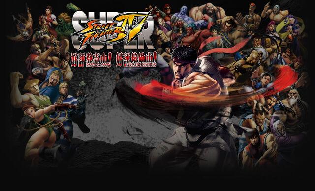 File:Super Street Fighter IV - Japanese wallpaper.jpg