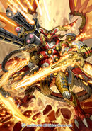 Blazing Flare Dragon (Full Art)