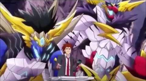 (Legion Mate) Cardfight!! Vanguard Brawler, Big Bang Knucke Dragon & Big Bang Slash Dragon HD-0
