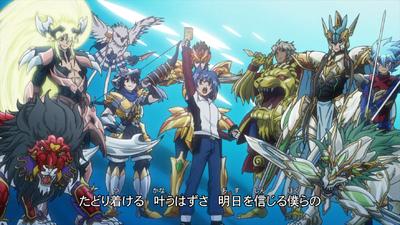Gold Paladin Units (Anime-AC-OP)
