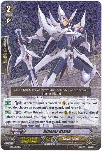 Blaster Blade (Archetype) | Cardfight!! Vanguard Wiki ...