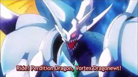 (Legion Mate) Cardfight!! Vanguard Perdition Dragon, Vortex Dragonewt - HD