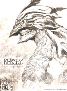 Seal Dragon, Kersey Design