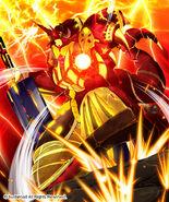 Sword Emperor, Dragonic Valblade (Full Art)