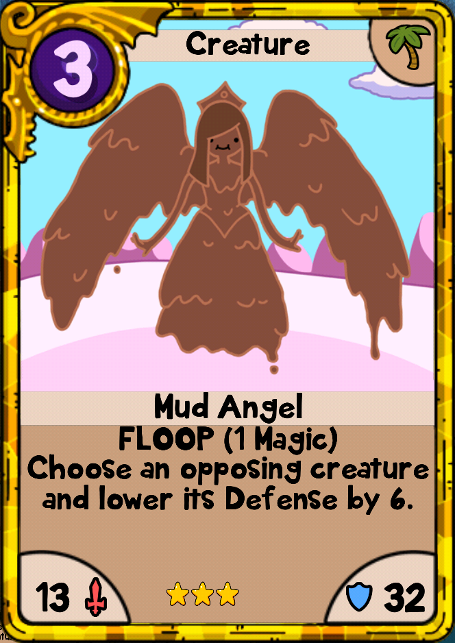 Mud Angel Card Wars Wiki Fandom Powered By Wikia