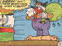 Upside-Down Clown