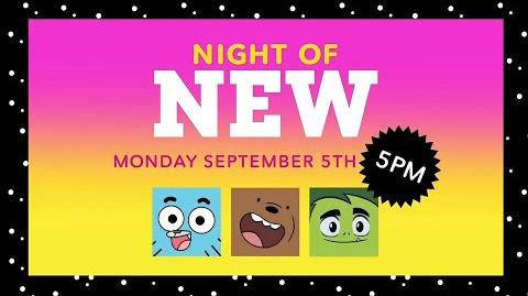 Cartoon Network - Night of NEW Promo - September 5, 2016 at 5PM