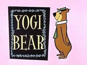 The yogi bear show title