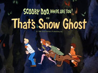 That's Snow Ghost title card