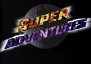 Super Adventures Logo (1995-1996)