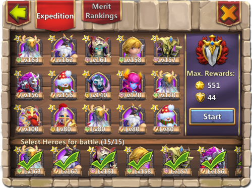 Expedition page high might 2