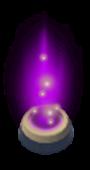 Purple garrison icon