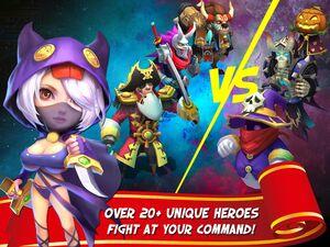 Castle Clash Heroes