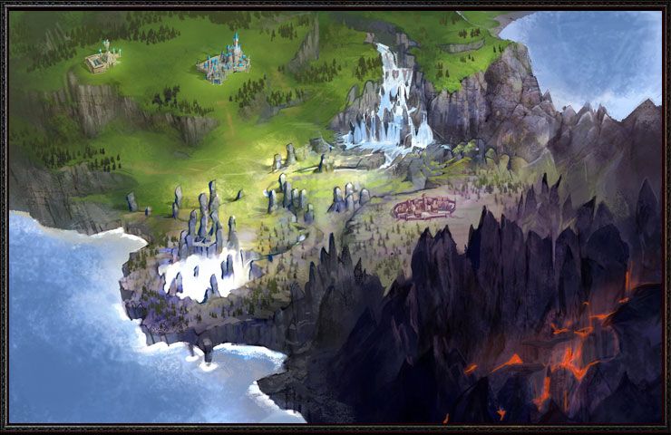 Land of Fire Map