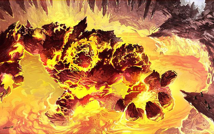 Gehenna The Fire Elemental Boss