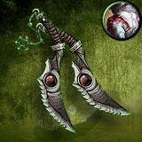 Serrated Daggers