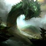 Alpha Emerald Sea Serpent