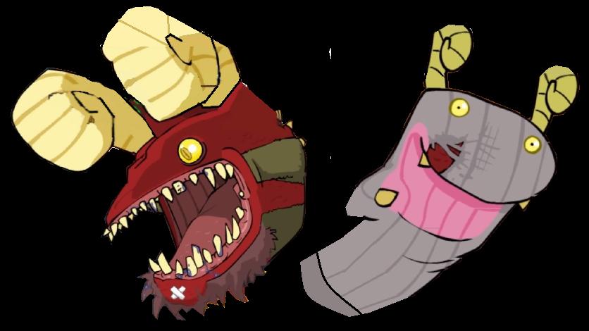 Dragon and Sock Puppet | Castle Crashers Wiki | Fandom