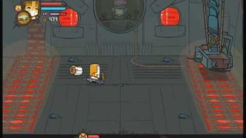 Castle Crashers 1st Playthrough, BOSS Industrial Castle