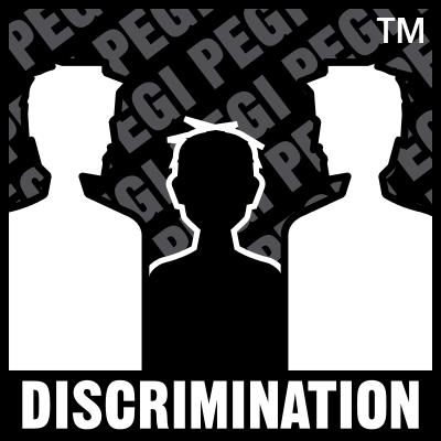 Znalezione obrazy dla zapytania PEGI dyskryminacja