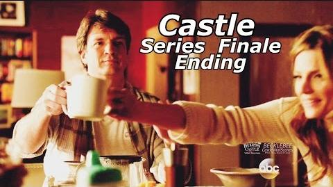 "Castle 8x22 Ending End Scene Castle & Beckett Kids Caskett Happy Ending Series Finale ""Crossfire"""