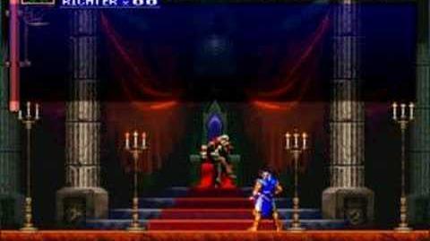 Castlevania DXC SOTN Richter & Dracula New Dialog