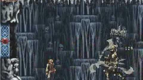 Castlevania OOE Albus Large Cavern and boss Fight