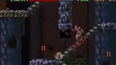 Super Castlevania IV Stage 8