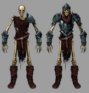Enemy Armored Skeleton