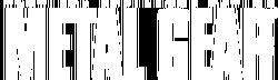 Metal Gear - Logo - 01