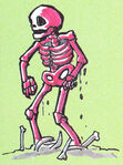 C1 Red Skeleton