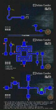Infinite Corridor Map