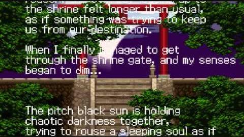 Castlevania: Aria of Sorrow/Script