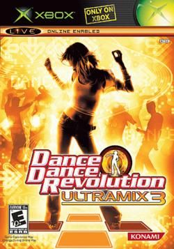 File:250px-Dance Dance Revolution Ultramix 3 cover art.png