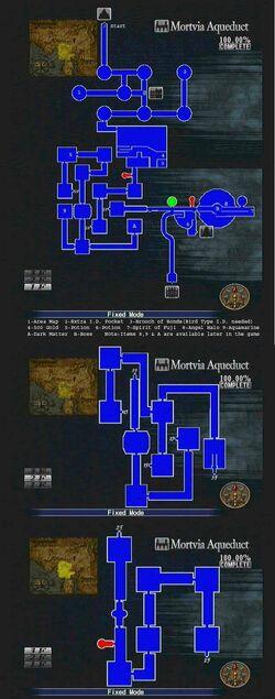 Mortvia Aqueduct Map