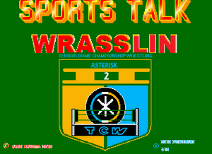 Sports Talk Wrasslin